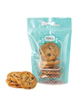 Sweet Creations Turquoise Treat Bag with Ribbon, 6-Pack