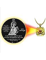 Dijyo Divine Darshan Gold Plated Baglamukhi Mata Ji Pendant For Unisex