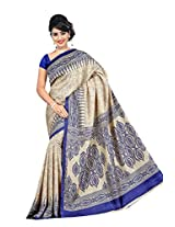 SAINATH MULTICOLOUR CREPE SAREE