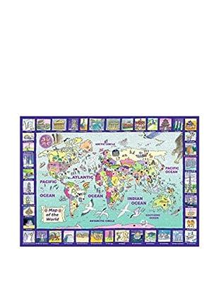Up Ravensburger Puzzles Fashion Design Style - Ravensburger satellite world map puzzle