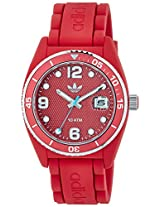 Adidas Brisbane Analog Red Dial Unisex Watch - ADH6152