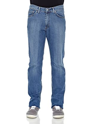 Carrera Jeans Pantalón Denim Stretch 11 Oz (Azul Oscuro)
