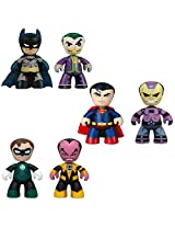 Dc Universe Mini Mez Itz 2 Pack Series 1 Figures Set