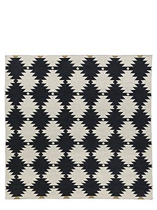 Kaleen Nomad Rug, Black, 8' Square