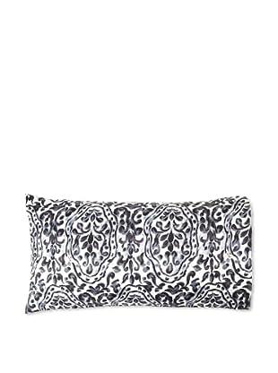 Edmond Frette Procida Print Pillowcase (Black/Ivory)