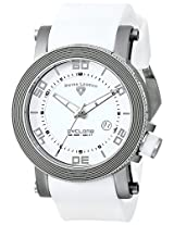Swiss Legend Men's 30464-02-WHT Cyclone White Dial Silicone Watch