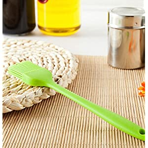 Okayji Silicone Basting Brush Kitchen Oil Cooking Tools , Multi Color