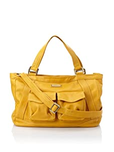 Hlaska Artifacts Women's Artifact V3 Structured Tote with Pockets (Gold)