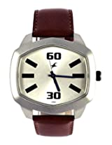 Fastrack Analog Silver Dial Men's Watch - 3119SL01