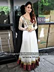 Tamanna Bhatia White Floor Length Georgette Anarkali/p1019
