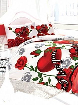 Colors Couture Bettdecke und Kissenbezug Romina