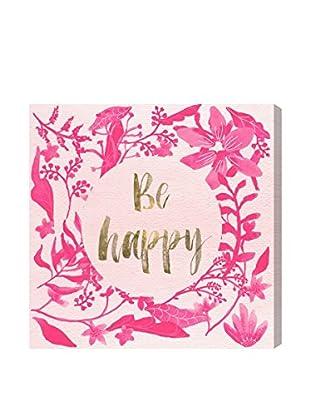 Oliver Gal Artist Co. Pink Happy, Multi, 20