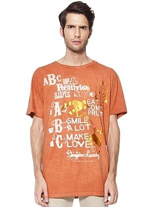 Caramelo Camiseta (naranja quemado)