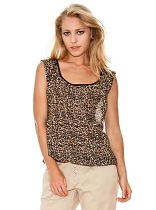 Springfield Blusa Leopardo (marrón)
