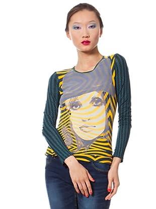 Custo Camiseta Burry (Multicolor)