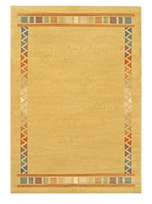 Lotus Mod Rug, Light Brown, 5' 3