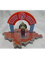 Animal Crossing Jump out Outing Figure Collection Play Set~Kent ~Digby