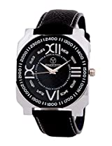 PREEZON Black Dial Analogue Watch for Men (MR01)