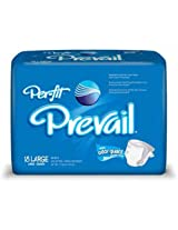 Prevail Per-Fit Adult Diapers Large (18 Count)