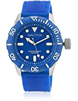 Nta09601G Blue/Blue Analog Watch