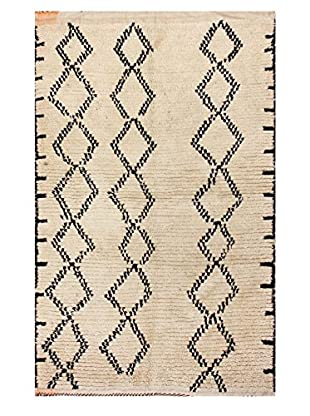 nuLOOM One-of-a-Kind Hand-Knotted Nelson Berber Shag Rug, Natural, 3' 10