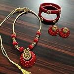 Red Fashion Jewellery Set