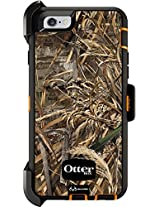 Otterbox Defender Series Case And Holster For Apple Iphone 6 - Realtree Max 5 Blaze (Orange / Black Grass) - Certified Refurbished