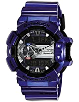 Casio G-Shock Bluetooth Bluetooth Analog-Digital Blue Dial Men's Watch - GBA-400-2ADR (G558)