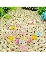 Girls Kids Designer Partywear Fancy Jewellery Necklace Set