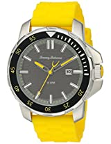 Tommy Bahama  Men's 10018386 Big Island Diver 3-Hand Analog Display Japanese Quartz Yellow Watch