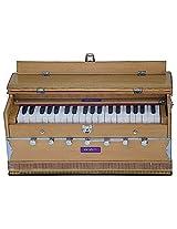 SANSKRITI MUSICALS Harmonium - A440 - 7 Stopper, With Coupler - ABF