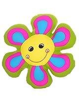 Twisha Lycra Smile Petal Green 13 X 13 X 4 inch