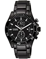 Fossil Wakefield Analog Black Dial Men's Watch - CH2936