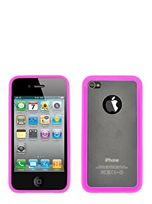 Blautel iPhone 4/4S Carcasa Protectora Bumper Lateral Rosa