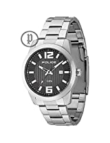 Police Analog Black Dial Men's Watch - PL13406JS/02M