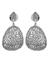 Indian Traditional Wedding Theme Silver Touch Earrings By Lazreena