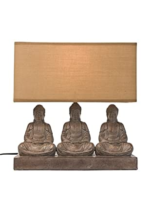 Kare Design Lámpara De Mesa Sitting Buddha Rectangular