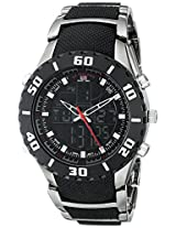 U.S. Polo Assn. Sport Men's US8163 Bracelet Watch with Black and Gun Metal Band