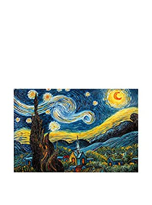 Arte Dal Mondo Pintura al Óleo sobre Lienzo Van Gogh Notte Stellata