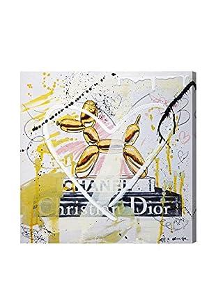 Oliver Gal Balloon Dog Remix Canvas Art