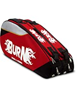 Burn BN KB- 001 9 in 1 Tennis Kitbag (Red)