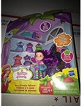 "Strawberry Shortcake *Berry Princess Fashions* 3"" Plum Pudding Doll Mini Set"