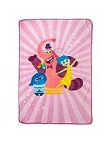Disney Inside Out Plush Blanket