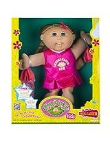 Cabbage Patch Kids Doll - Cheerleader, Caucasian Girl, Blond Hair