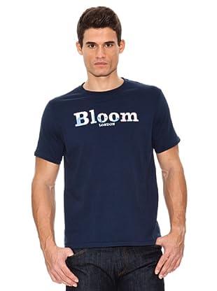 Bloom Camiseta Bandera Inglaterra (Azul Oscuro)