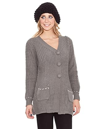 HHG Strickjacke Mabel (Grau)