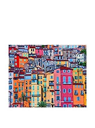 LegendArte  Wandbild Farbige Nachbarschaft