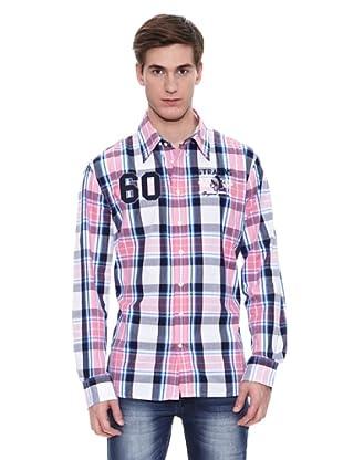Camisa Etowah (Rosa / Azul Marino)