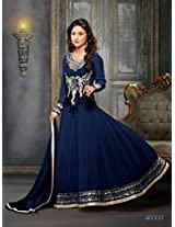 549055_Beautiful fancy Blue Color Embriodered Anarkali salwar suit
