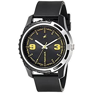 Fastrack Casual Analog Black Dial Men's Watch - 3114PP04